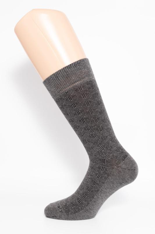 calza-corta-links-grigia-e-nera