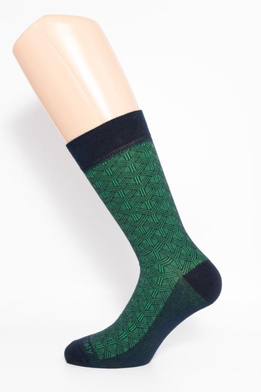 calza-corta-links-blu-e-verde