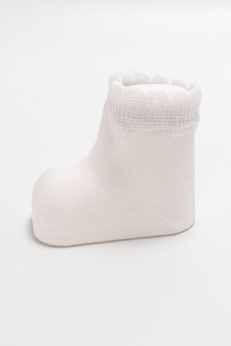 calza-bianca-baby-con-polsino-elaborato